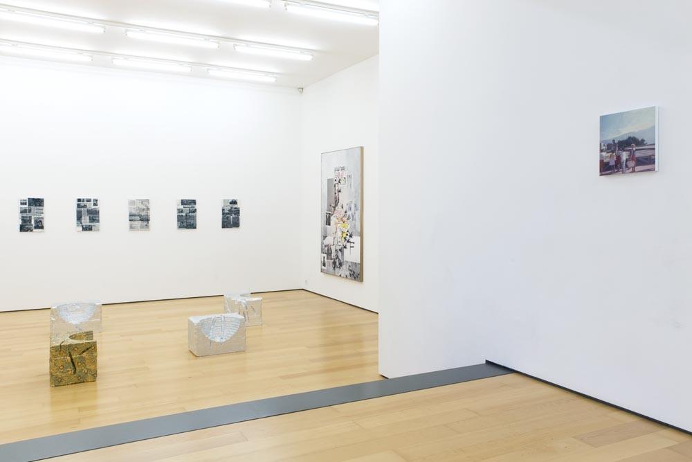 Installation view (from left to right): Eirene Efstathiou, Lito Kattou, Olga Migliaressi-Phoca, Eftihis Patsourakis