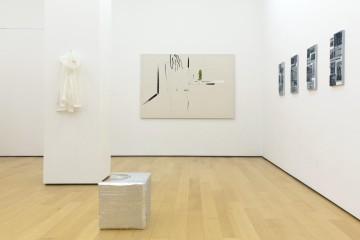 Installation view (from left to right): Lito Kattou, Panos Papadopoulos, Eirene Efstathiou