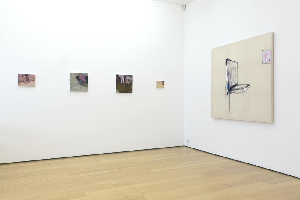 Installation view (from left to right): Eftihis Patsourakis, Panos Papadopoulos