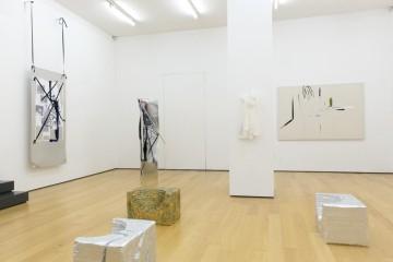 Installation view (from left to right): Yorgos Sapountzis, Lito Kattou, Panos Papadopoulos