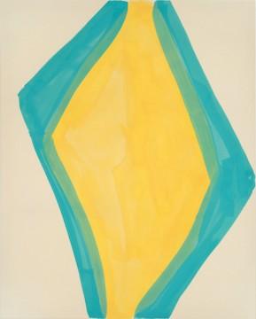Avenues, Pigment, glutin on canvas, 200 x 160 cm