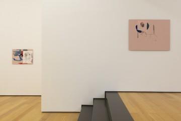 Nick Mauss, Installation view, 2015, at Eleni Koroneou Gallery