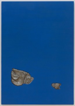 Venus Reclining, 2017, Acrylic on plywood, aluminium, 170 x 120 cm