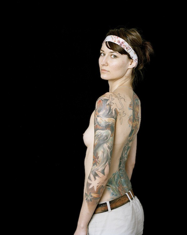 Lina Bertucci, Magda, 27, Tattoo Assistant, 2007, Ultrachrome archival photograph, 55,9 x 44,5 cm, Edition of 5 + 2 AP