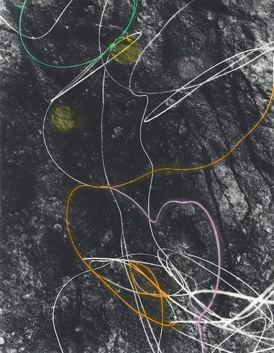 Primer 16, 2018, Hand-tinted gelatin silver print, 38 x 48 cm, unique