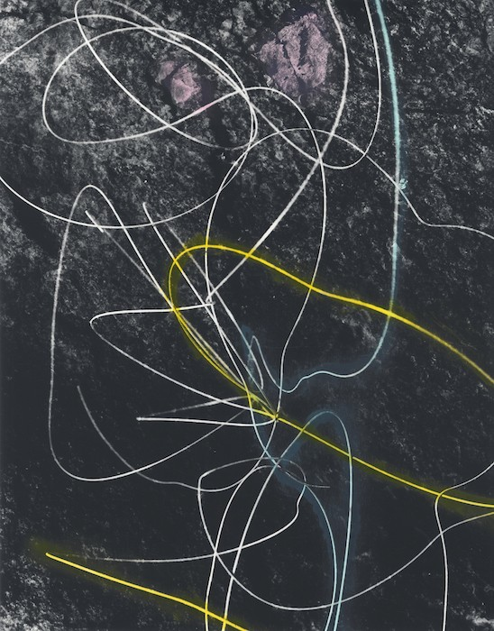 Primer 20, 2018, Hand-tinted gelatin silver print, 38 x 48 cm, unique